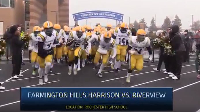 Harrison vs. Riverview – 2017 Football Playoff Highlights on STATE CHAMPS!