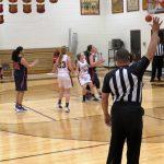 Powdersville High School Girls Varsity Basketball falls to Woodruff High School 30-47
