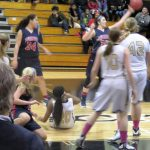 Powdersville High School Girls Varsity Basketball falls to Blacksburg High School 58-62