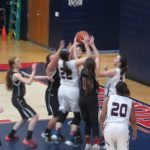 Powdersville High School Girls Varsity Basketball beat Liberty High School 65-29