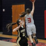 Powdersville High School Girls Junior Varsity Basketball beat Pendleton High School 28-18