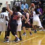Powdersville High School Girls Varsity Basketball falls to Pendleton High School 22-59