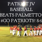 Patriots Baseball Off To A Great Start!