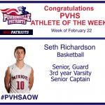 PVHS Athlete of the Week Seth Richardson