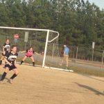 Powdersville High School Girls Junior Varsity Soccer falls to D W Daniel High School 0-3