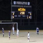 Powdersville High School Boys Varsity Soccer beat Pendleton High School 4-2