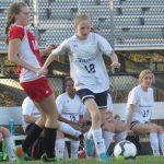 Powdersville High School Girls Junior Varsity Soccer falls to Landrum High School 0-2