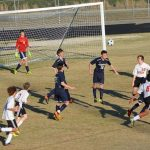 Powdersville High School Boys Junior Varsity Soccer beat Landrum High School 4-0