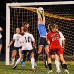 Powdersville High School Girls Varsity Soccer falls to Landrum High School 1-3