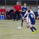 Powdersville High School Boys Varsity Soccer falls to Landrum High School 0-2