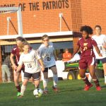 Powdersville High School Girls Junior Varsity Soccer falls to Woodruff High School 2-0