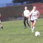 Powdersville High School Girls Varsity Soccer falls to Woodruff High School 4-2