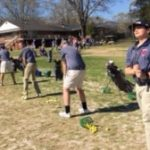 Powdersville High School Boys Junior Varsity Golf beat Liberty High School 210-250