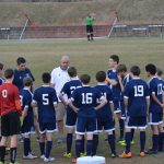Powdersville High School Boys Varsity Soccer beat Woodruff High School 3-0