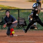 Powdersville High School Varsity Softball beat Pendleton High School 5-4