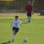Powdersville High School Boys Junior Varsity Soccer beat Pendleton High School 1-0