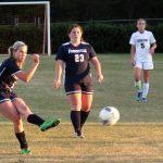 Powdersville High School Girls Varsity Soccer beat Pendleton High School 1-0