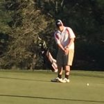 Powdersville High School Boys Junior Varsity Golf falls to Wren High School 192-204