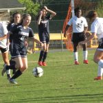 Powdersville High School Girls Varsity Soccer beat Crescent High School 3-1