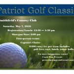 Registration Open for Patriot Golf Classic