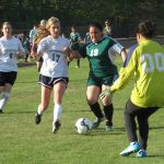 Powdersville High School Girls Junior Varsity Soccer beat Berea High School 4-0