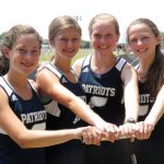 Four Girls Track Members Advance to State !!