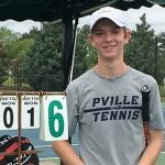 Middleton Competes in State Singles Tennis