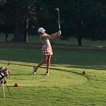 Powdersville High School Girls Varsity Golf beat Wren High School 172-182