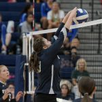 Powdersville High School Girls Junior Varsity Volleyball falls to Wren High School 2-1