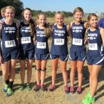 Powdersville High School Girls Varsity Cross Country finishes 8th place