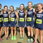 Powdersville High School Girls Varsity Cross Country finishes Strong