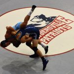 Powdersville High School Coed Varsity Wrestling falls to D W Daniel High School 45-24
