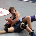 Powdersville High School Coed Varsity Wrestling beat Ware Shoals High School 42-24