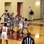 Powdersville High School Boys Varsity Basketball falls to Chapman High School  90-57