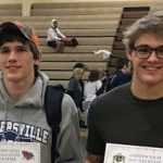 Durst, McKinney Wrestle in State Championships Saturday