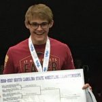 McKinney Makes History as First Powdersville Wrestling State Champion!