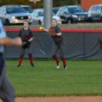 Powdersville High School Varsity Softball falls to T L Hanna High School 14-2