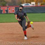 Powdersville High School Varsity Softball falls to Emerald High School 14-4