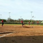 Powdersville High School Varsity Softball falls to T L Hanna High School 1-0