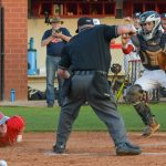 Powdersville High School Varsity Baseball falls to Palmetto High School 9-5