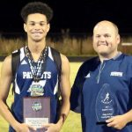 Schultz, Humphries named Region Track Athlete, Coach of Year