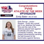 Congratulations PVHS AOW!