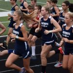 Powdersville High School Girls Varsity Cross Country finishes 1st place