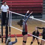Powdersville High School Girls Varsity Volleyball beat Liberty High School 3-0