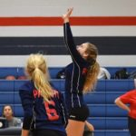 Powdersville Middle School Volleyball Wins Double Header 2-0, 2-0 over Riverside