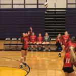 Powdersville High School Girls Varsity Volleyball beat Emerald High School 3-0