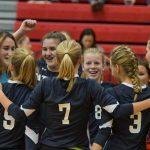Powdersville High School Girls Junior Varsity Volleyball beat Southside High School 2-0