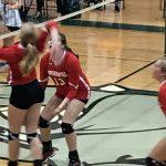 Powdersville High School Girls Junior Varsity Volleyball beat Berea High School 2-0