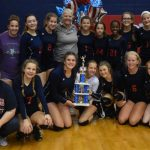 PVMS Volleyball Finishes Second in AOP Division 2 Tournament