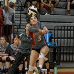 Another Playoff Victory! Powdersville High School Girls Varsity Volleyball beat Gettis D Broome High School 3-0